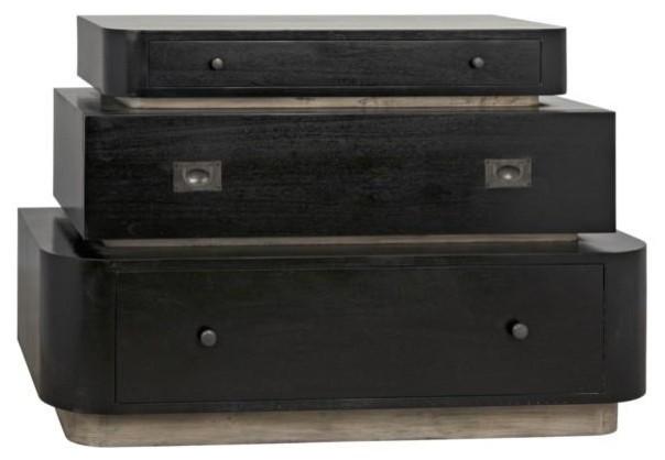 Nola Dresser, Hand Rubbed Black.