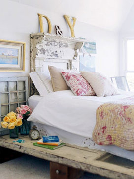 eclectic bedroom by The Shabby Nest