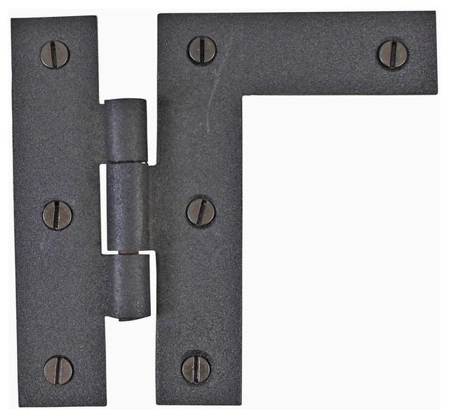 The renovator 39 s supply inc h l flush cabinet hinge iron for Flush cabinet hinges