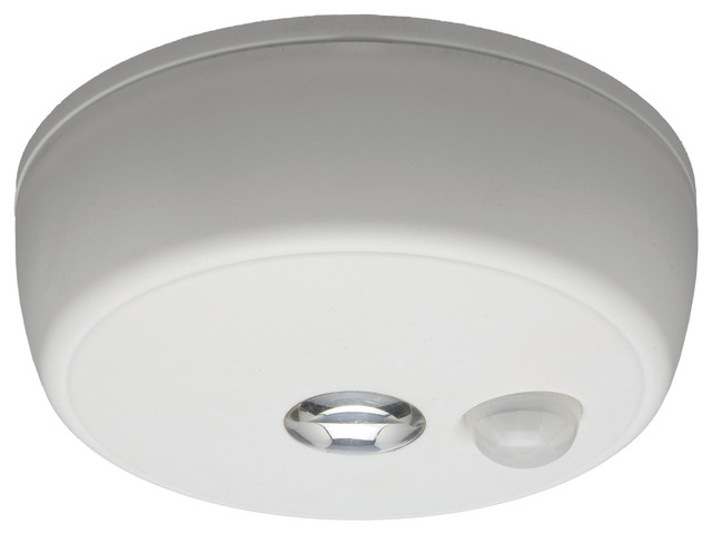 Mr Beams Wireless Motion Sensing LED Ceiling Light Contemporary Outdoor  Lighting