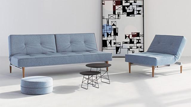Dance Light Blue Sofa Bed