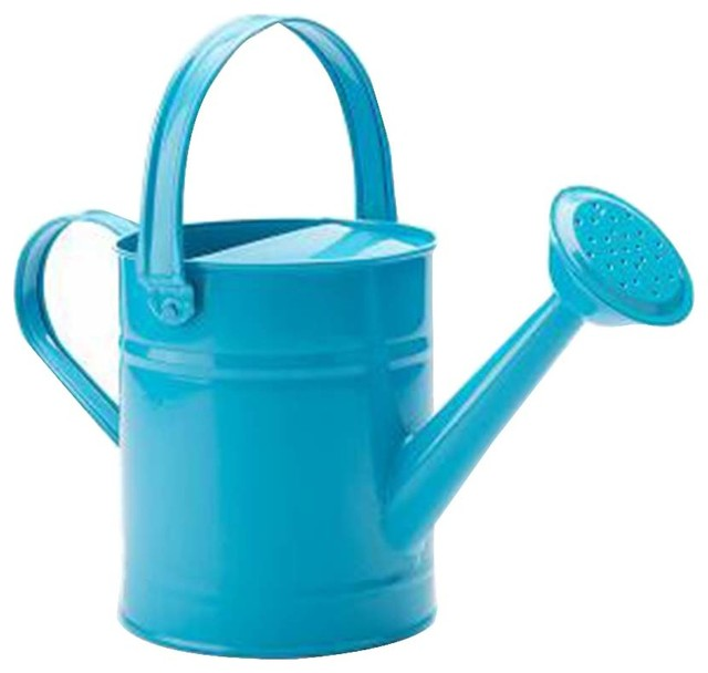 Watering Can Gardening Tools Kettle Iron 1 Contemporary Cans By Blancho Bedding
