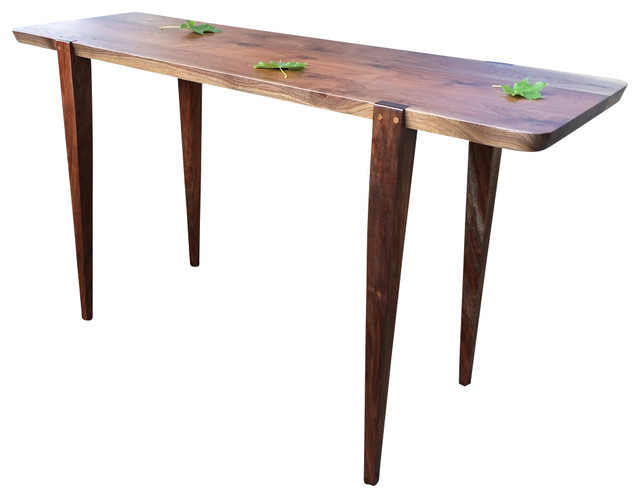 oslo hallway table oregon walnut