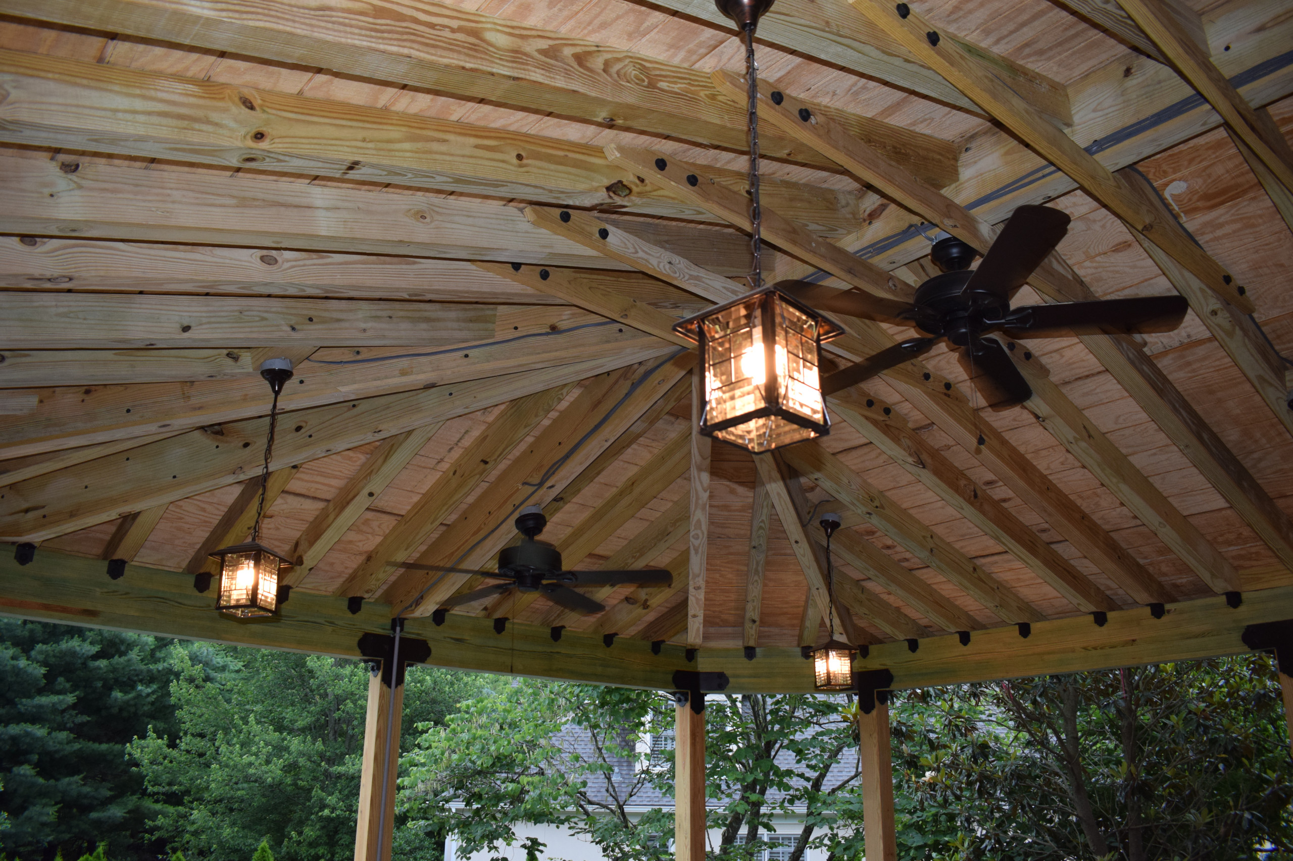 Hip roof covers