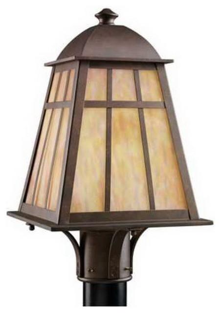 Kichler Legacy Bronze Post Top Light