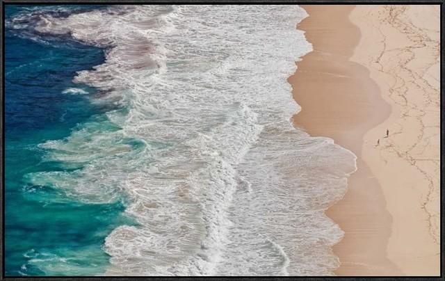 """""""Where The Ocean Ends"""" Artwork, 36""""x22.3"""""""