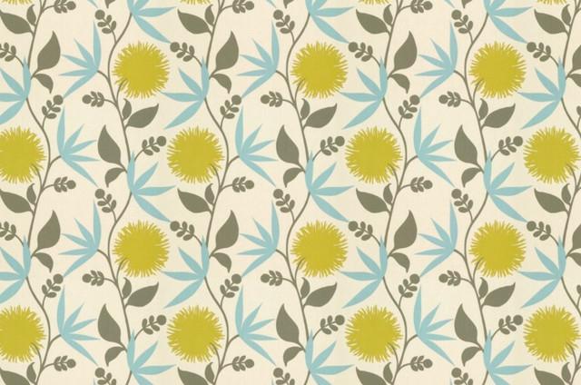 Thomas Paul Fabric: Dahlia/Aegean