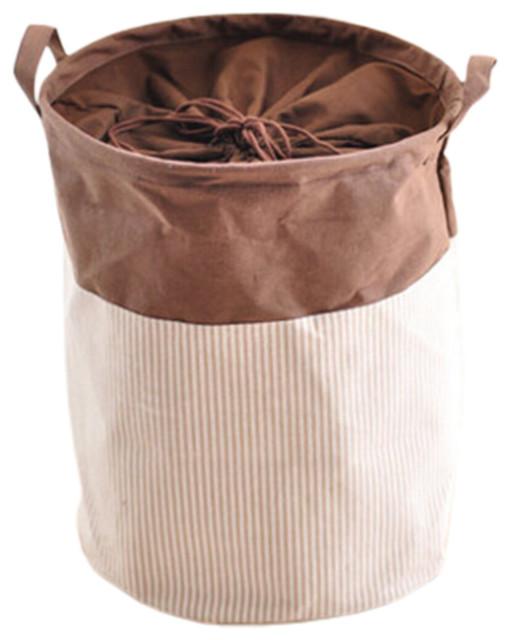Stylish Hamper Laundry Storage Basket, No.19.