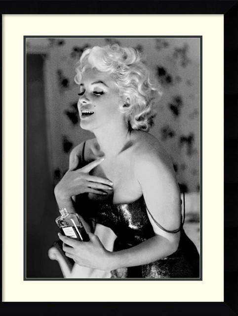 Marilyn Monroe, Chanel No. 5 Framed Print by Ed Feingersh ...