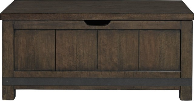 Liberty Furniture Thornwood Hills Youth Toy Chest Bench