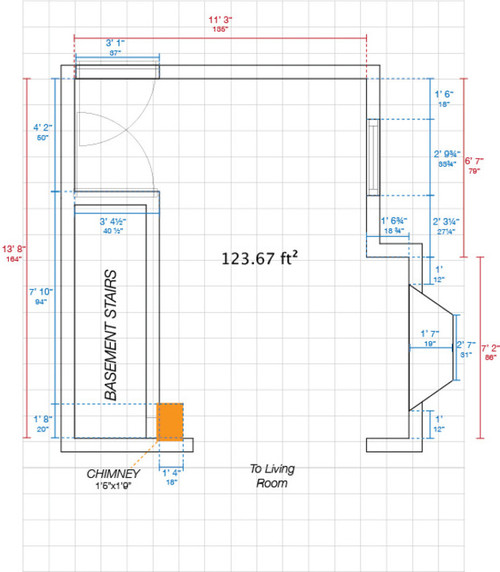 Small Awkward Kitchen Layout Help