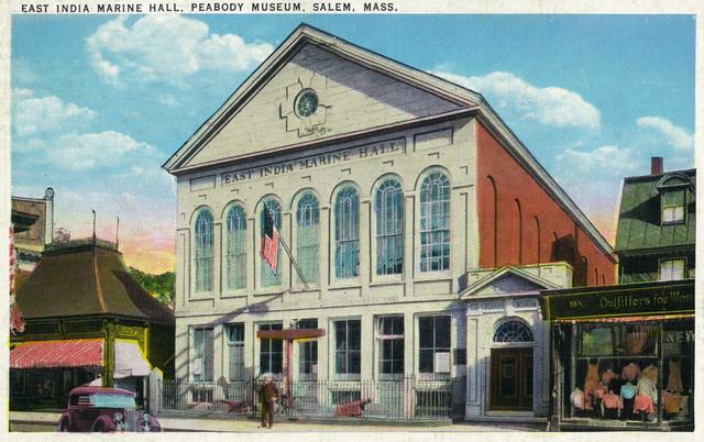 Salem Ma The East India Marine Hall Peabody Museum
