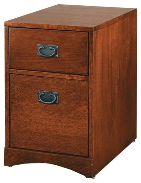 Martin Furniture Mission Pasadena Office Filing Cabinet - Transitional - Filing Cabinets - by ...