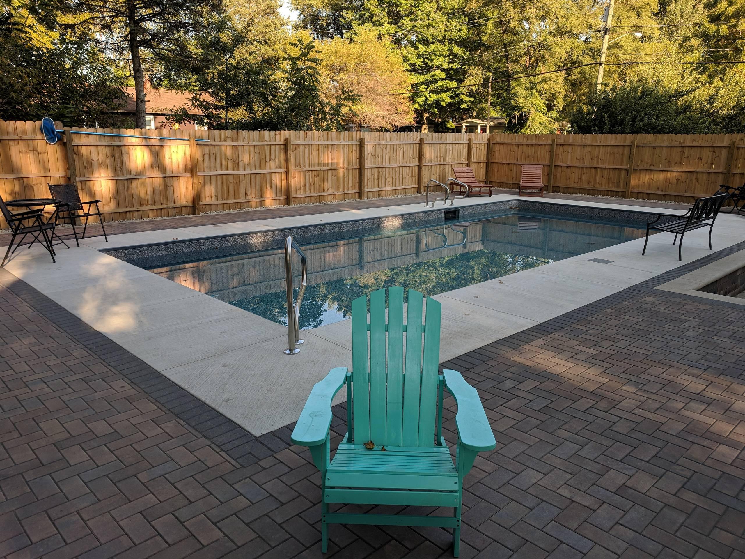 New Buffalo Pool Surround & Landscape