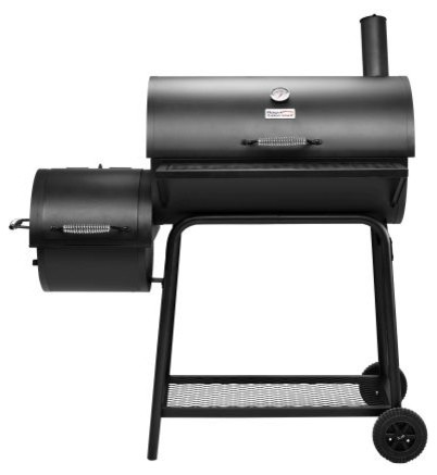 Royal Gourmet Cc1830f 30in Charcoal Grill With Offset Smoker.