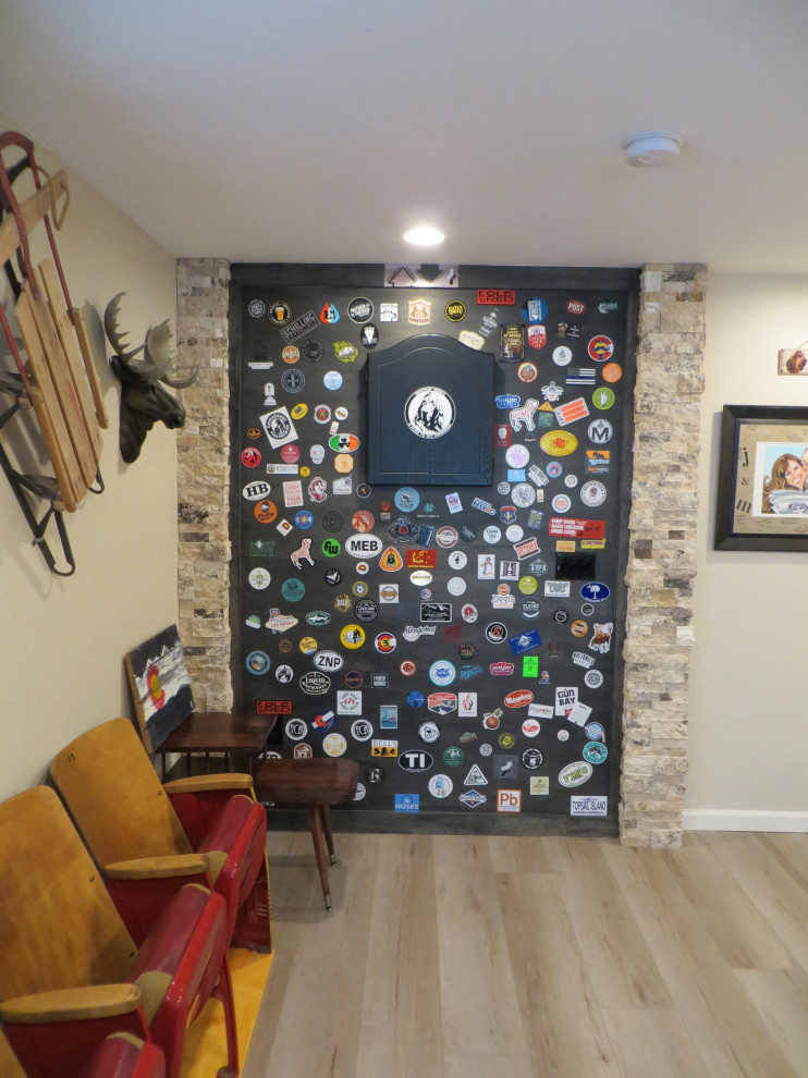 Eclectic home design photo in Denver