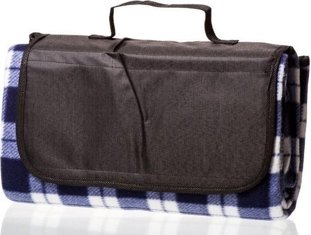 Plush Picnic Blanket, Travel Camping, Beach Fleece Throw Blanket, 50 X 60.
