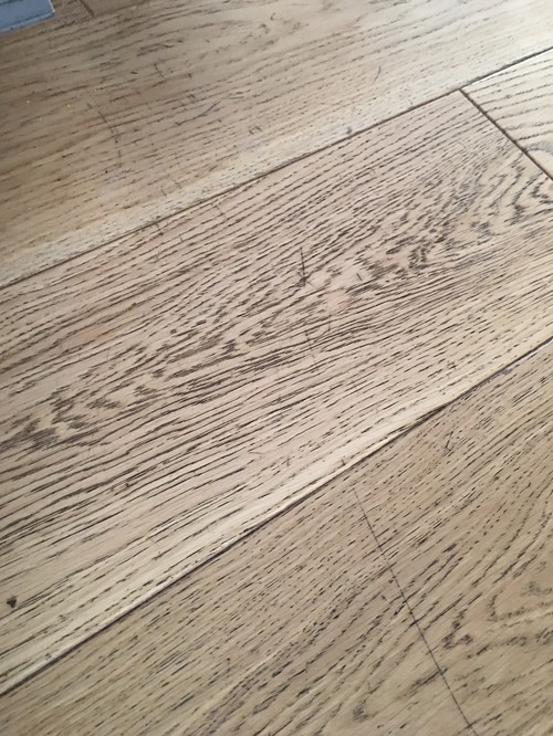 Removing Scratches In Engineered Oak Flooring Help Please