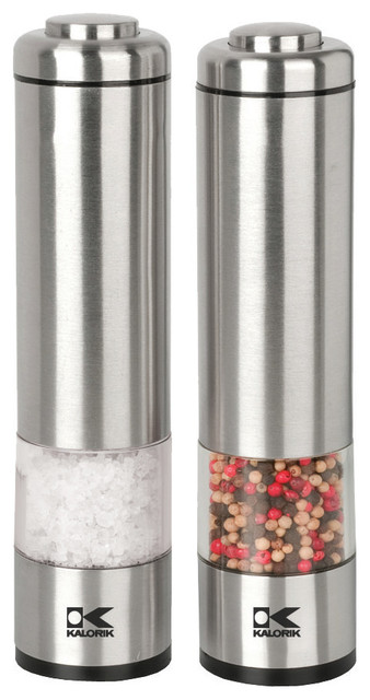 Salt And Pepper Grinder Set.
