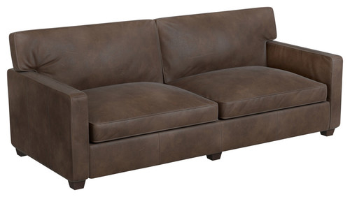 Houzz: Manhattan Sofa, Whiskey Leather