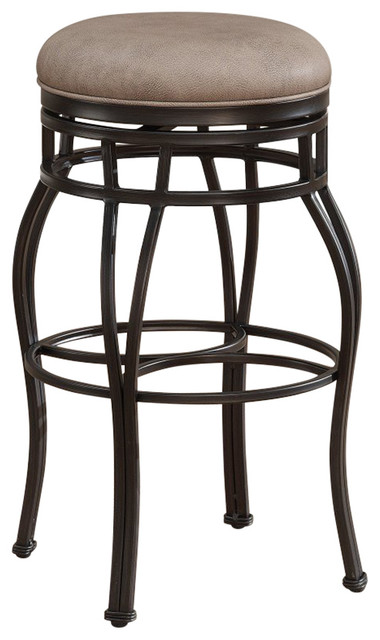 Awesome American Heritage Bella Backless Bar Height Stool Aged Sienna Uwap Interior Chair Design Uwaporg