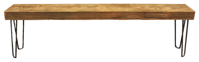 Cool Solid Reclaimed Wood Beam Bench 4 Ibusinesslaw Wood Chair Design Ideas Ibusinesslaworg
