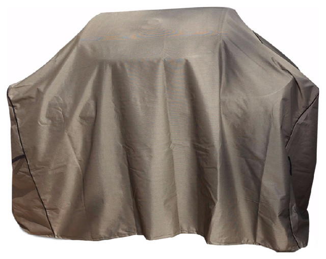 """Signature Tan Tweed Grill Cover, 60""""."""