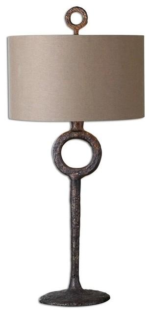 Ferro Cast Iron Table Lamp.
