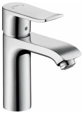 Hansgrohe Metris Single Hole Bathroom Faucet W Lever