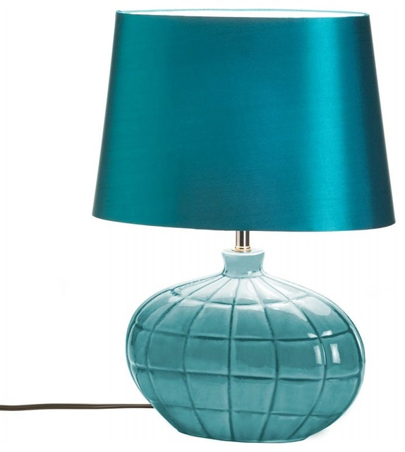 Ac Treasures Table Lamp Turquoise Table Lamps Houzz