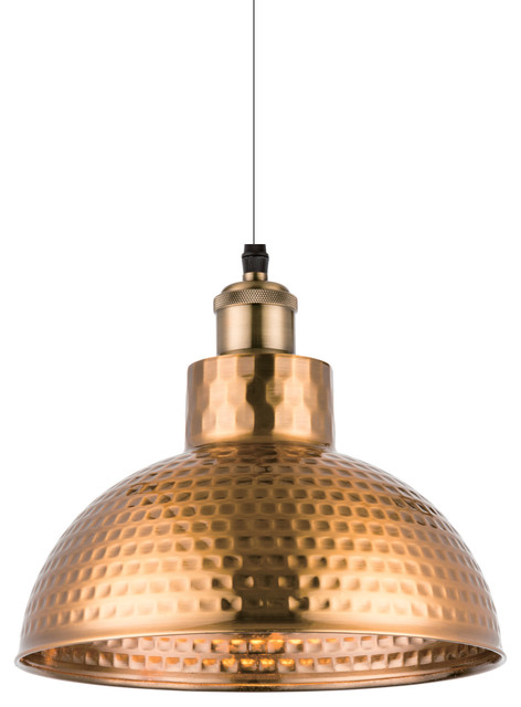 Mod 1 Light Pendant, Gold.