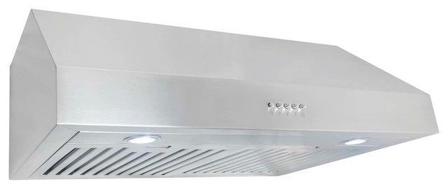 760 cfm under cabinet range hood with permanent filters