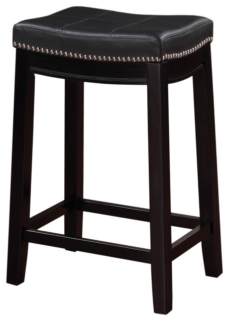 Rockne Counter Stool, Black. -1