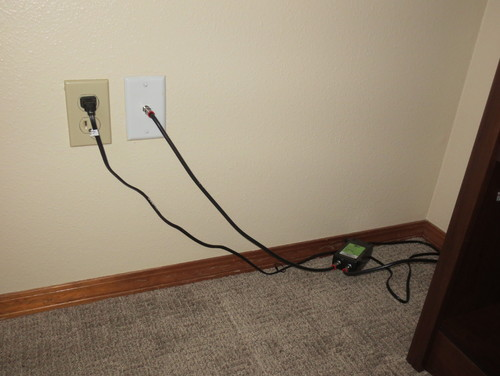 how to hide cable cords