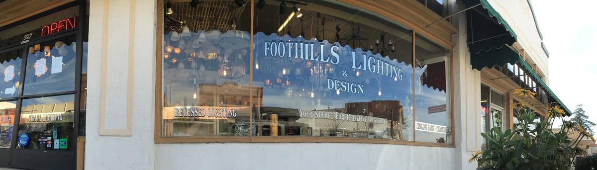foothills lighting and design auburn ca us 95603