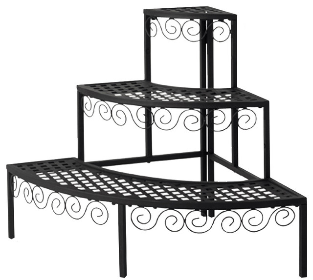 Tierra Garden Plant Stand End Cap Traditional Plant Stands And