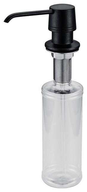 shop houzz kraus usa inc kraus soap dispenser granite black kitchen sink accessories. Black Bedroom Furniture Sets. Home Design Ideas