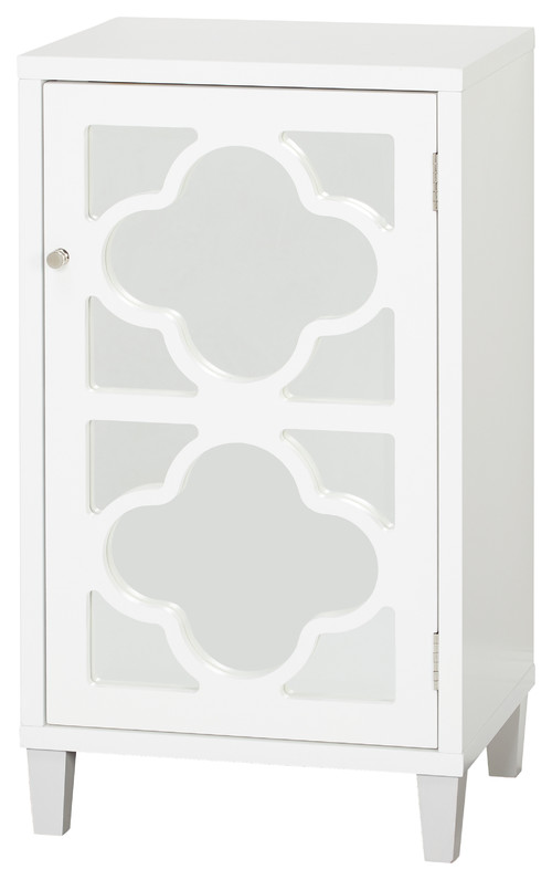 Lifestorey Broadway Side Cabinet, White