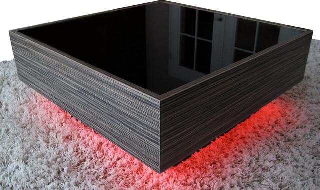 Modern Couchtisch couchtisch modell in zebrano schwarz glossy modern