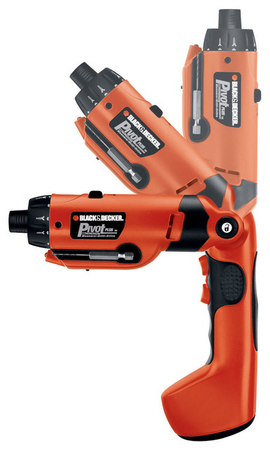 Black And Decker Pd600 6 Volt Pivotplus All-In-One Cordless Drill.