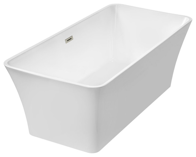 Freestanding One-Piece Acrylic Bathtub Ltf2.