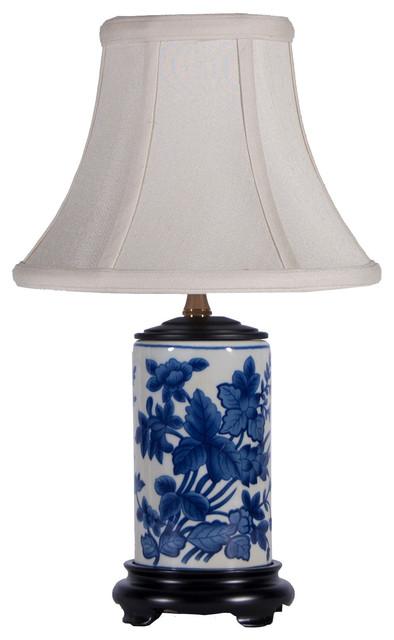 Lampstoreoriginals Small Blue White Traditional