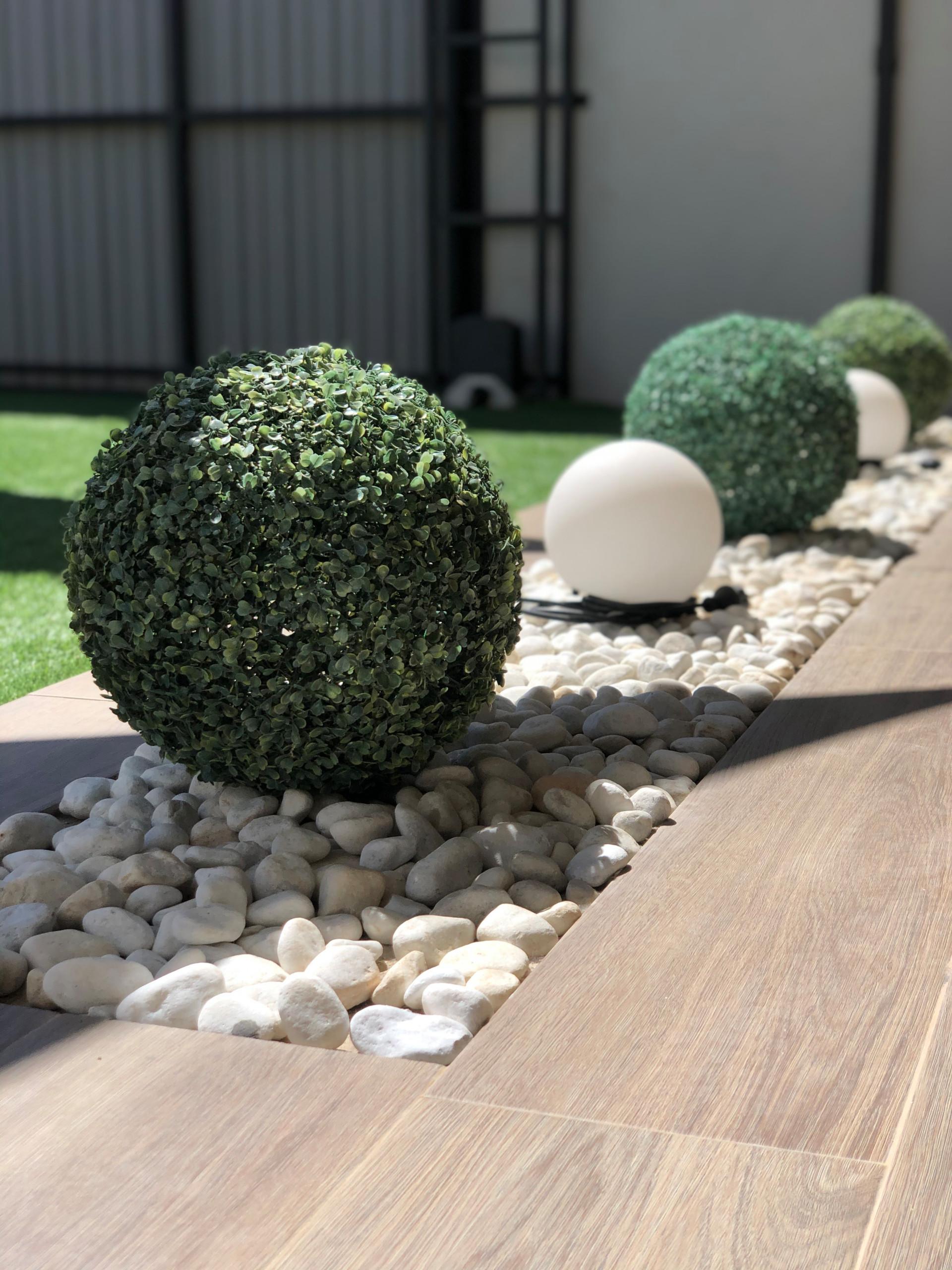 Reforma y decoración de terraza jardin