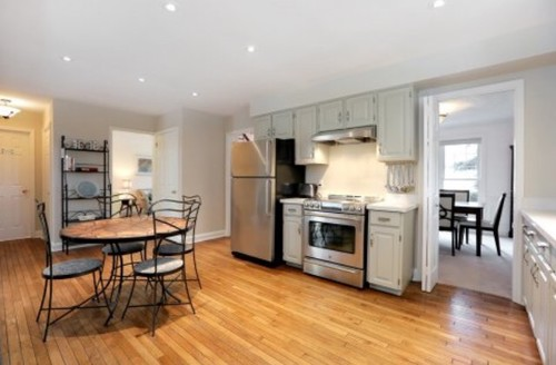 ... Cabinet Style Or Go Shaker Style Instead. Fyi The Island Will Be White  Vs The Dove Grey Cupboards. Here Are Pictures From The Real Estate Listing.