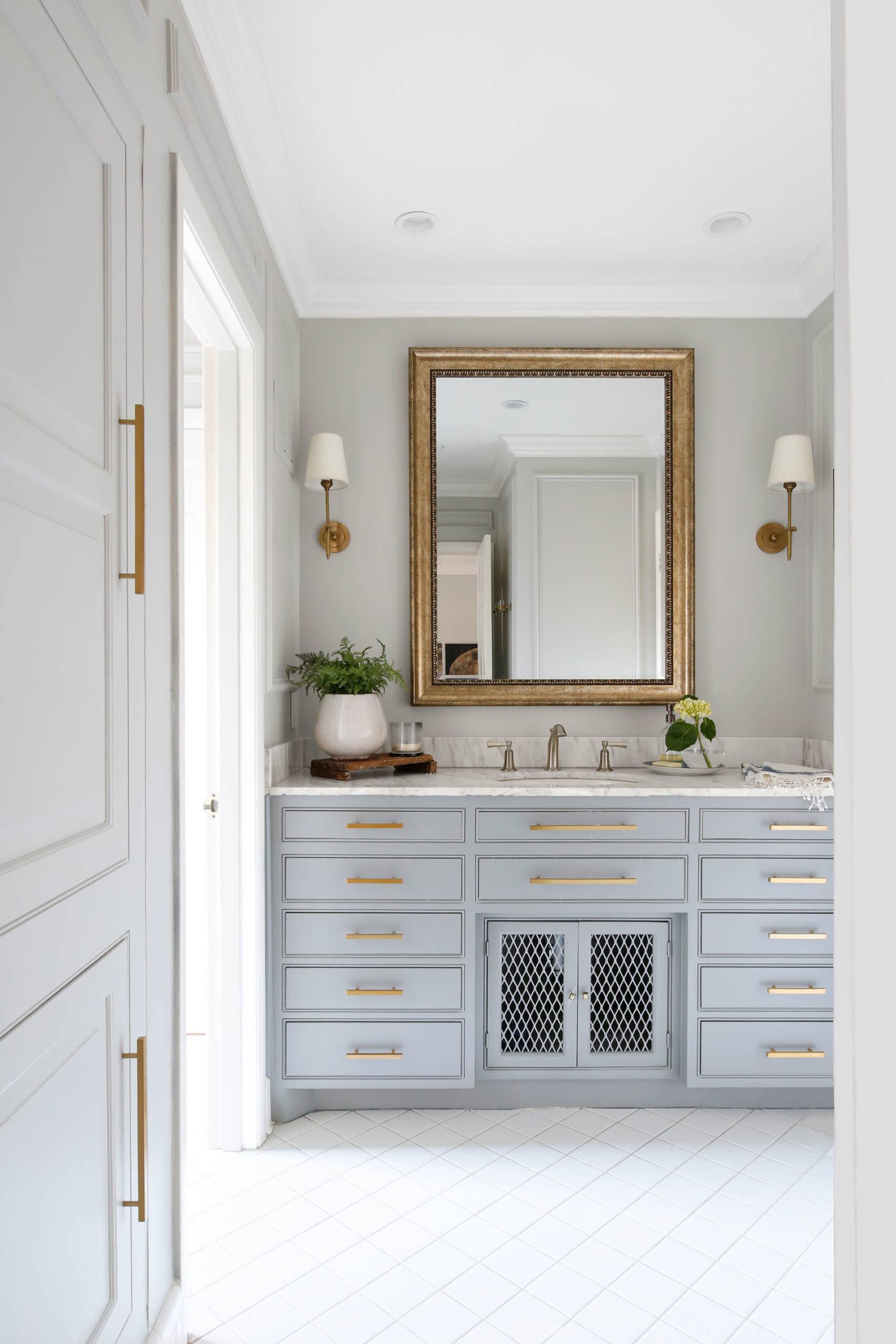 Gray Guest Bath