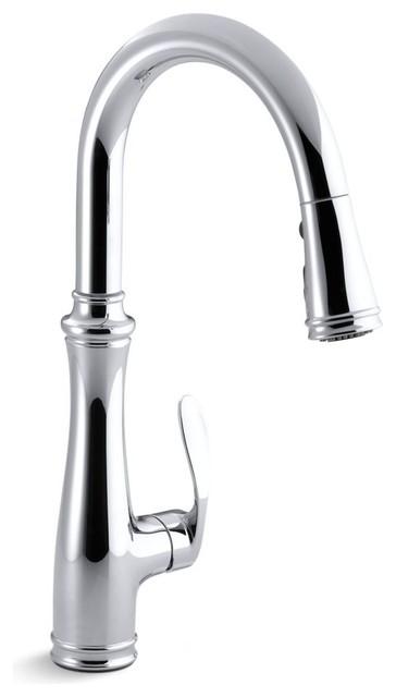 Kohler Bellera Single Hole Or 3 Hole Kitchen Sink Faucet