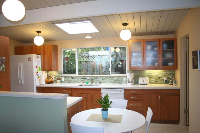 San Jose Eichler Kitchen