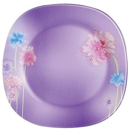 Luminarc 10  Angel Purple Glass Dinner Plate  sc 1 st  Houzz : purple dinner plates - pezcame.com