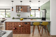Kitchen of the Week: European Flair in 96 Square Feet