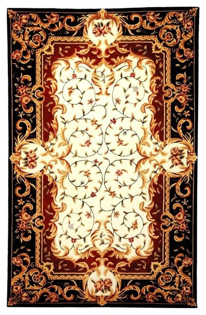 Victorian Style Rugs French Clic Chinese Country Fl Patterned Blue